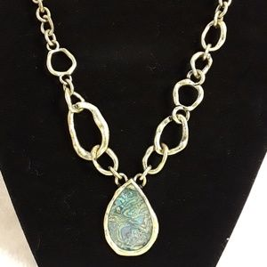 Jewelry - 3/$20 NRQ Abalone Necklace